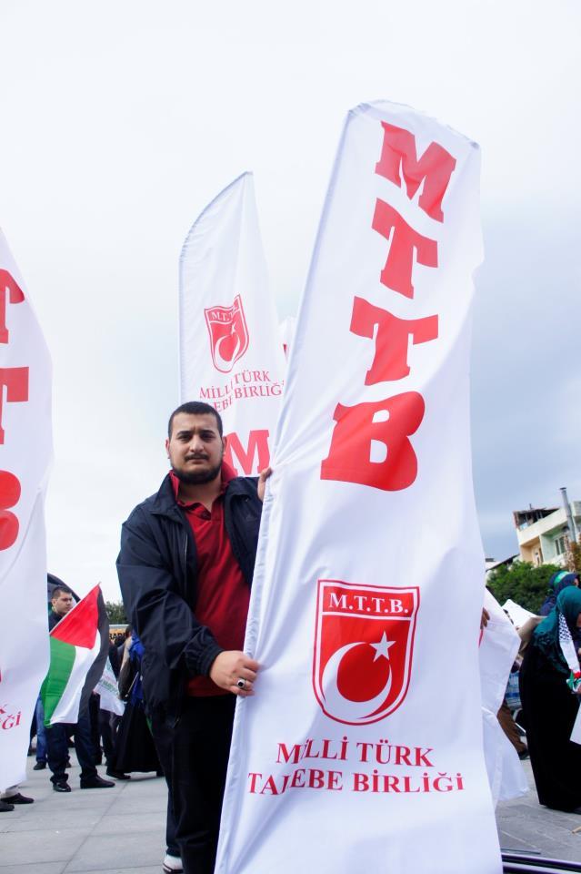 Mavi Marmara için Çağlayan\'daydık!