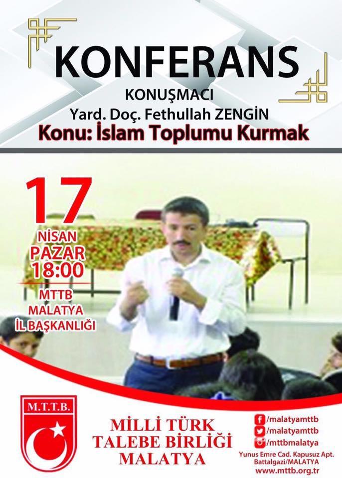 İslam Toplumu Kurmak