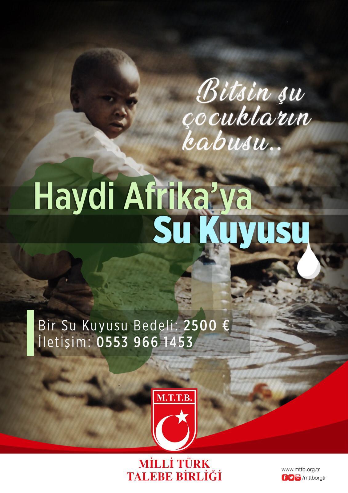 """""""Bitsin Artık Şu Çocukların Kabusu, Haydi Afrika'ya Su Kuyusu..."""""""
