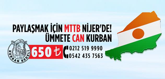 Paylaşmak için MTTB Nijer'de!