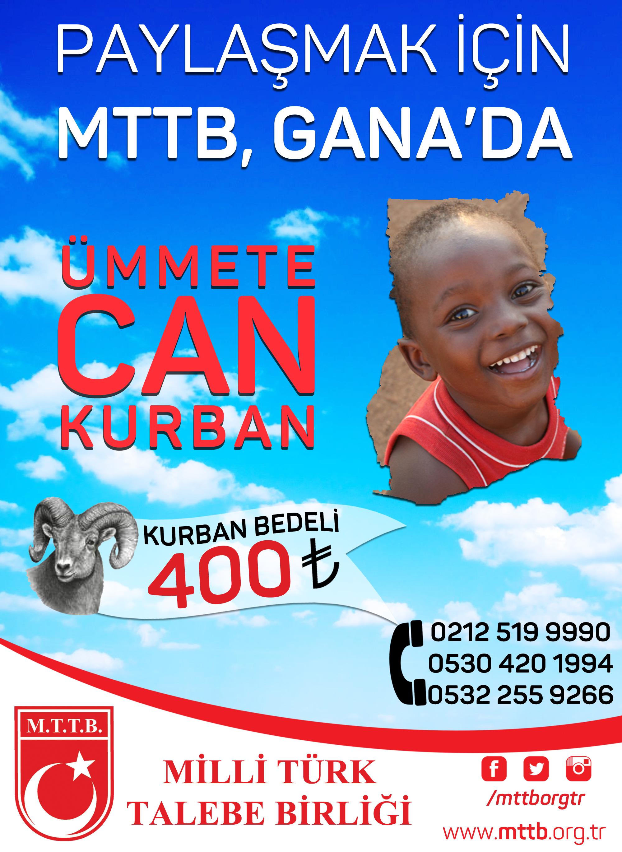Paylaşmak İçin MTTB Gana'da