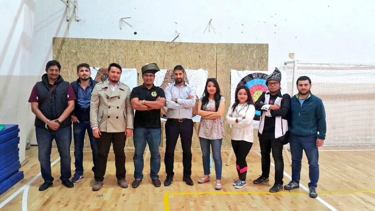 Uluslararası Okçulardan Talebe Birliği Spor Kulübü'ne ziyaret