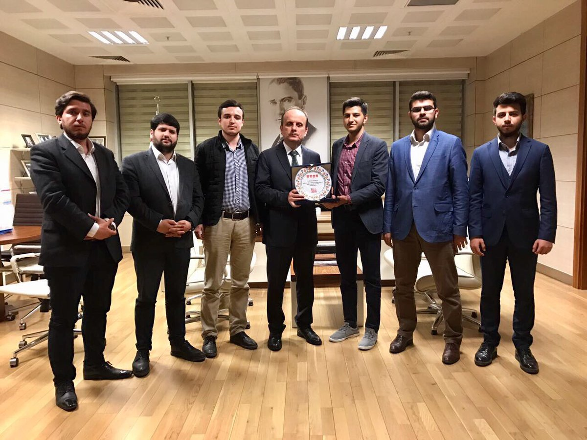 Spor Genel Müdürü Sn. Mehmet Baykan'ı makamında ziyaret ettik.