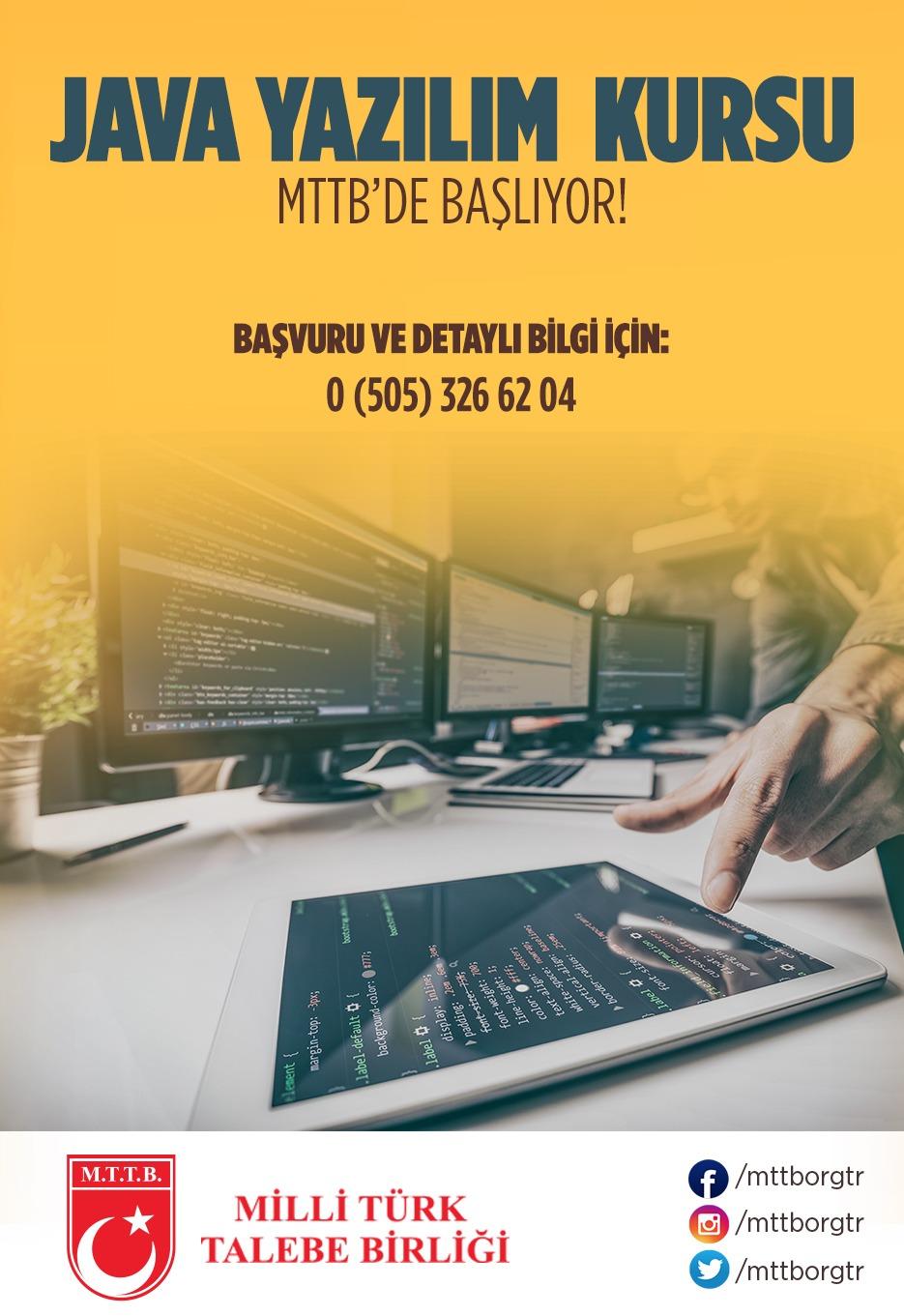 Java Yazılım Kursu