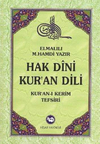 Hak Dini, Kurân Dili – A. H. ELMALILI